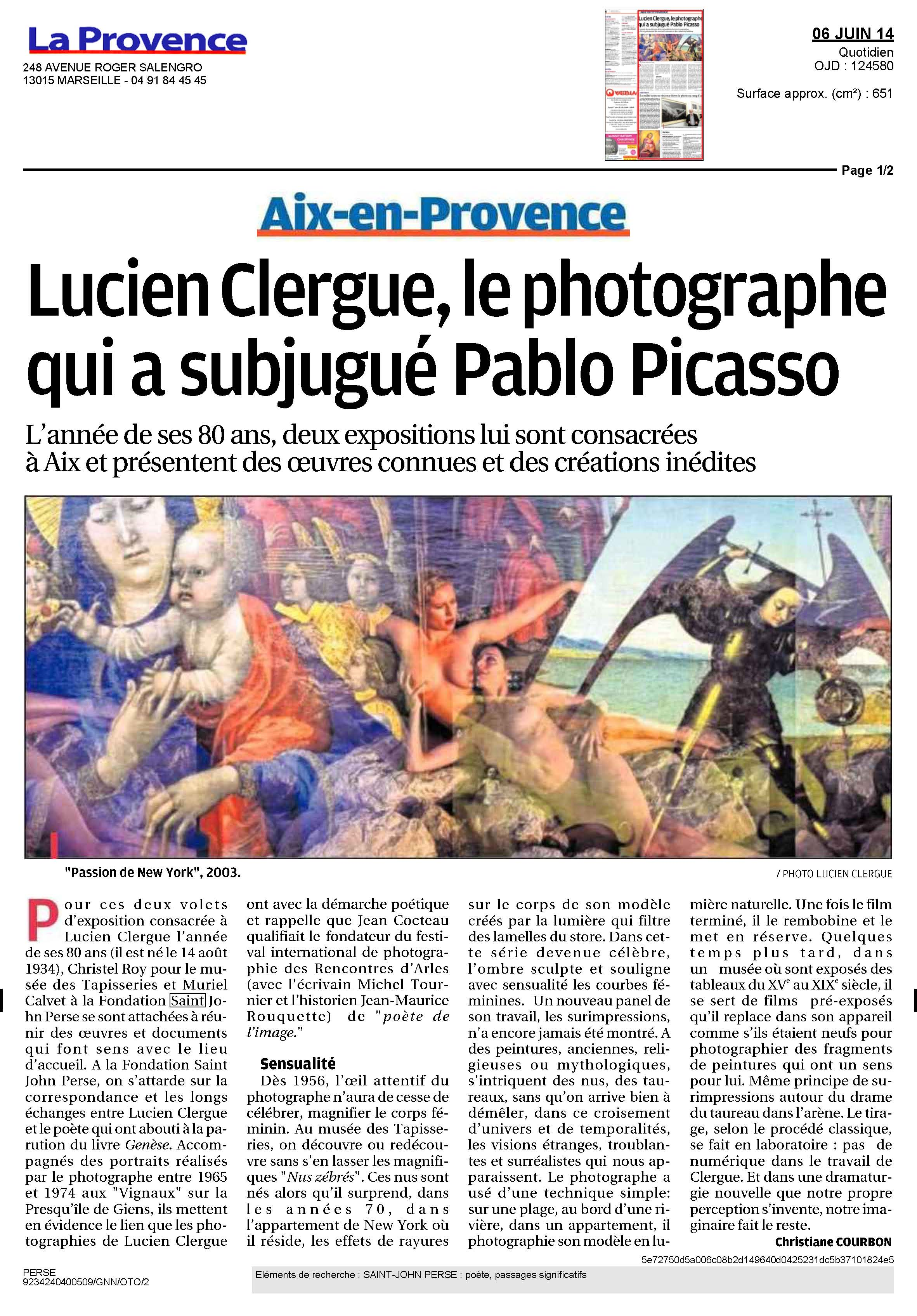2014-06-06_LA_PROVENCE_Clergue_Page_1