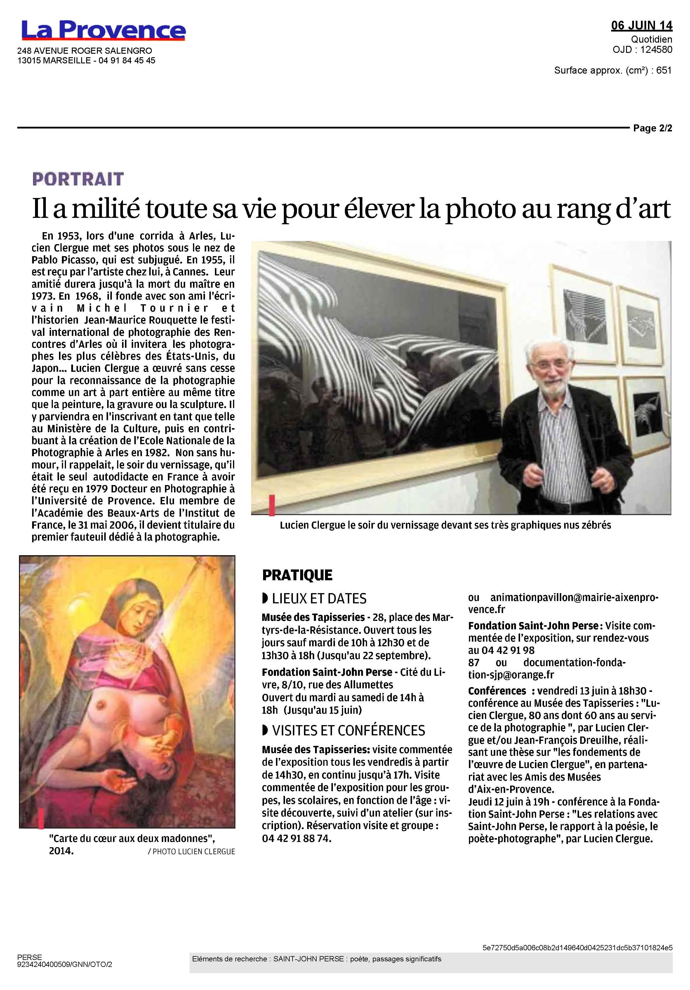 2014-06-06_LA_PROVENCE_Clergue_Page_2